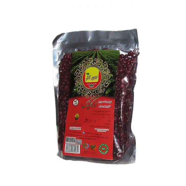 لوبیا قرمز ارگانیک 900 گرمی کلان آذر