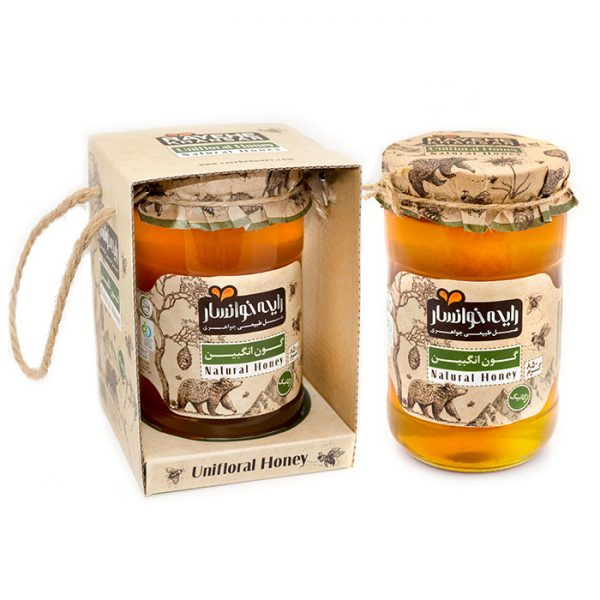 عسل گون انگبین ارگانیک 850 گرمی رایحه خوانسار