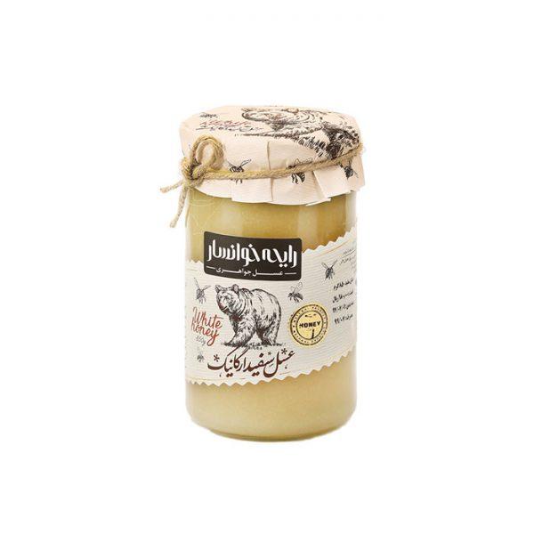 عسل سفید ارگانیک 850 گرمی رایحه خوانسار