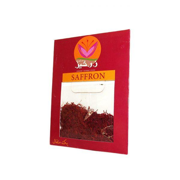 زعفران ارگانیک 1 مثقالی زرخیز