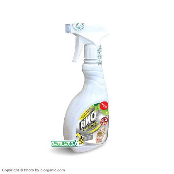 محلول حشره کش گیاهی ضد شپش، کک و کنه سر انسان 450 گرمی ریمو (RIMO)