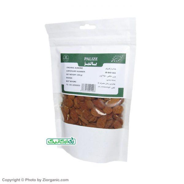 بادام ارگانیک پالیز 250 گرمی
