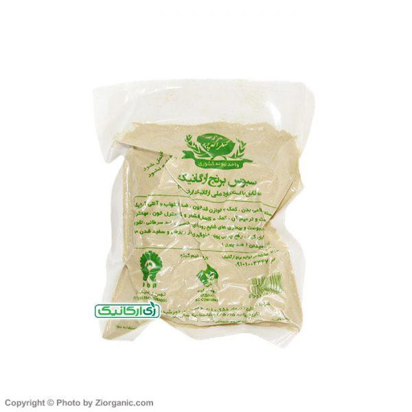 سبوس برنج ارگانیک شکراله پور - زی ارگانیک