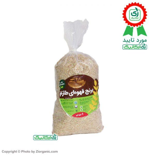 برنج قهوه ای ارگانیک - زی ارگانیک