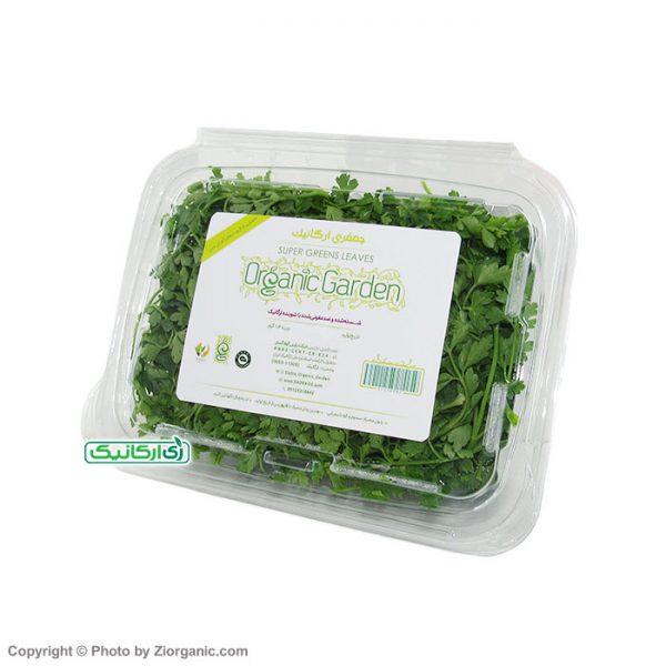 سبزی جعفری ارگانیک - زی ارگانیک