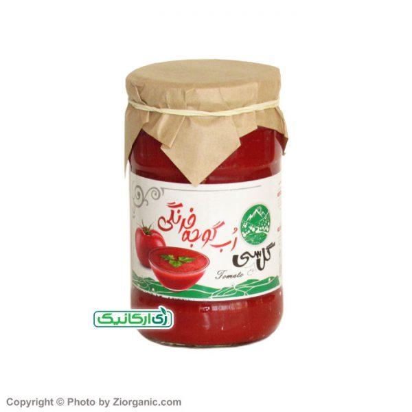 رب گوجه ارگانیک گل سی - زی ارگانیک