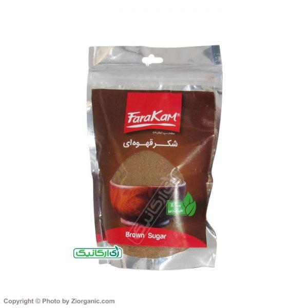 شکر قهوه ای سالم و طبیعی فراکام - زی ارگانیک